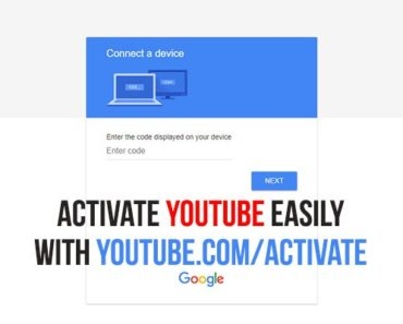 youtube.com/activate, How To Activate YouTube Via youtube.com/activate