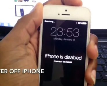 How To Undisable An iPhone