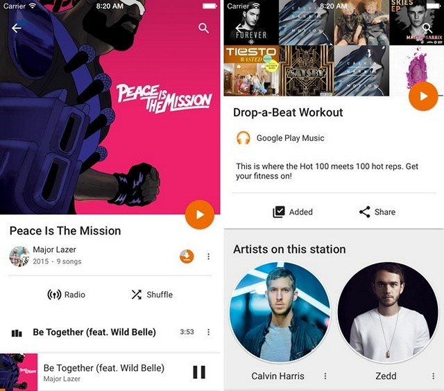 Offline Music Apps - Google-Play-Music