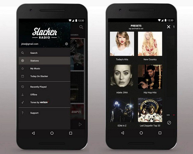 Slacker-Radio-offline music