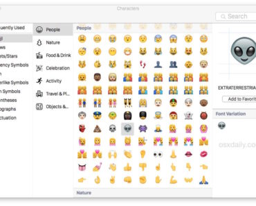 emoji-on-mac