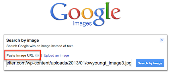 find your images online using reverse image search by google images