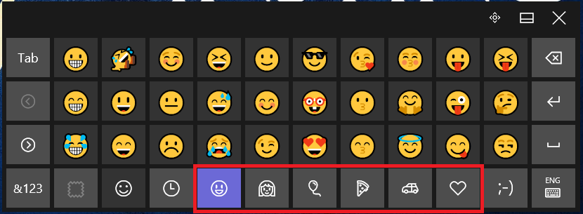 how to get emojis on pc