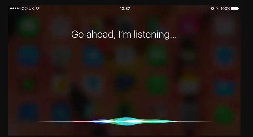siri not responding - talk to siri more to improve dictation