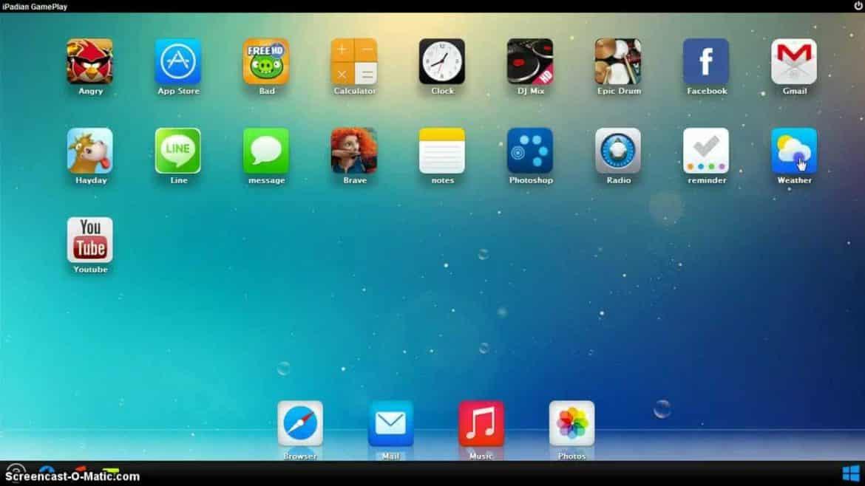 use iMessage on my PC - iPadian 2