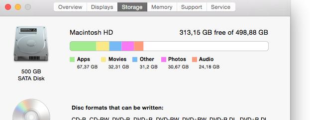 what is other storage on mac storage