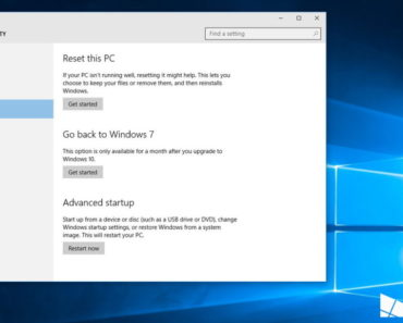 downgrade to windows 7