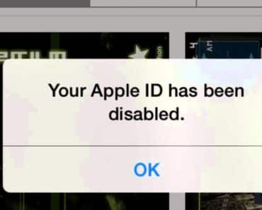 Your Apple ID Has Been Disabled - How To Enable Apple ID