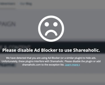 how to disable an ad blocker like adblock plus