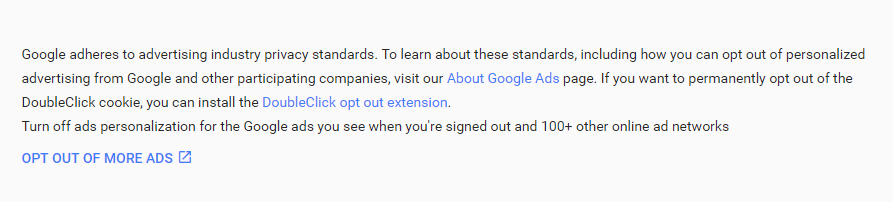 Google advertising opt-out page-Opt-out-of-more-ads