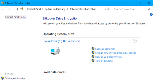 bitlocker windows 10 home encryption, windows 10 encryption