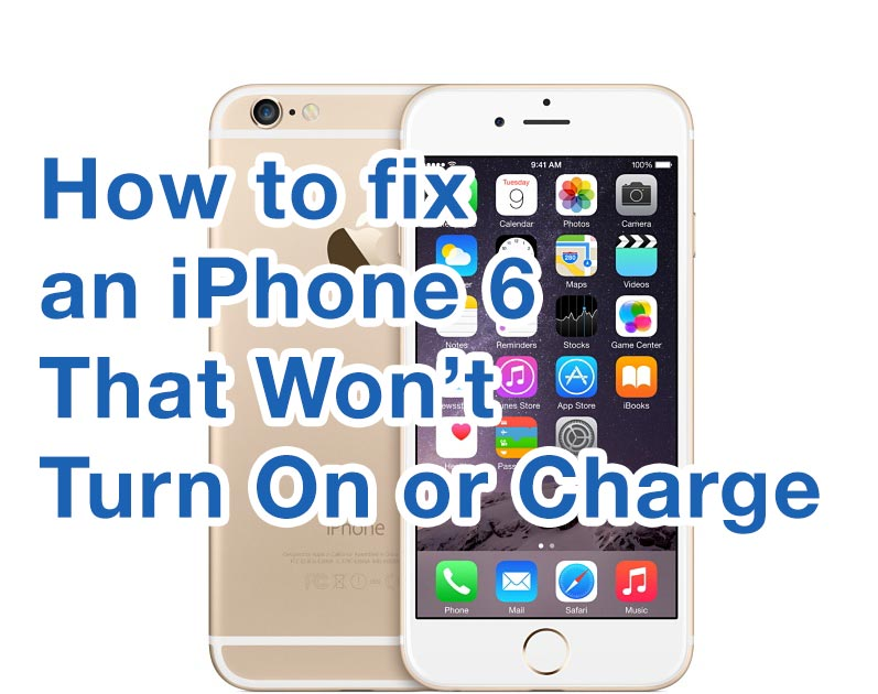 why won t my iphone turn on my iphone won t turn on what do i do try these solutions 20631