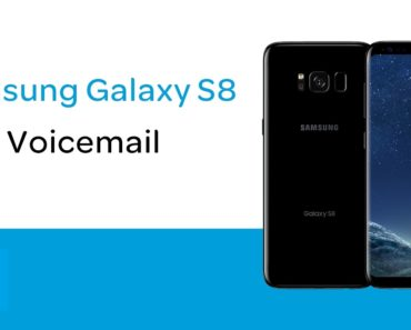 how to enable voicemail settings on galaxy s8