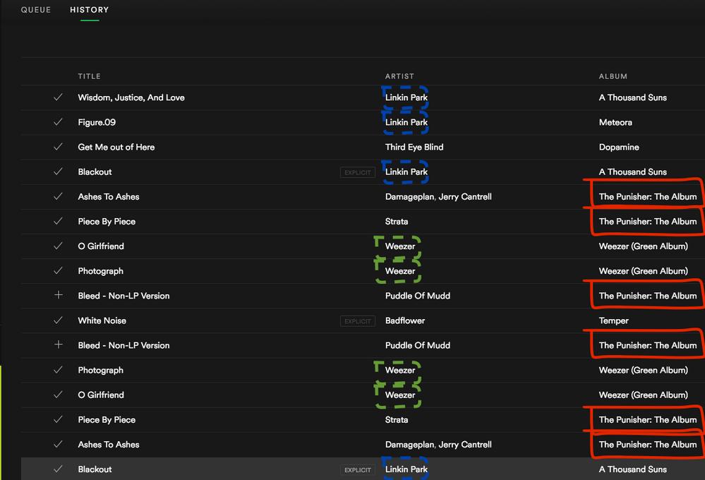 Spotify shuffle play not random fix