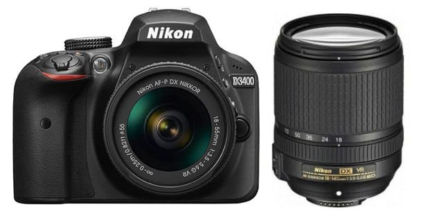 Nikon D3400 Lenses