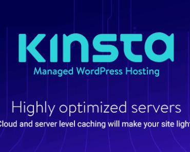 kinsta hosting review - high speed - wordpress hosting