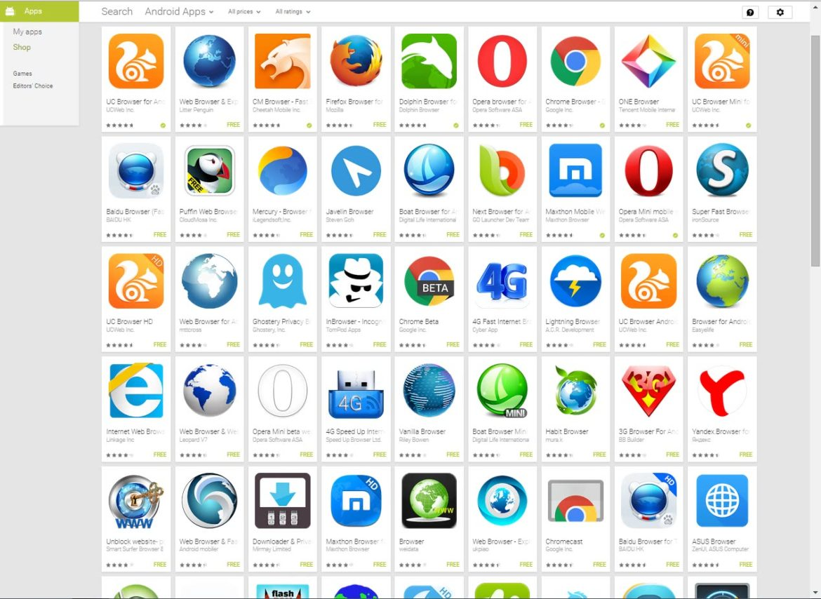 Internet Browser Android Aktualisieren