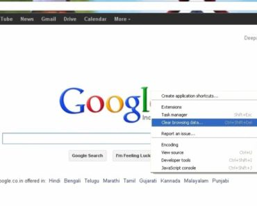 Chrome: How To Clear Cache And Cookies On Google Chrome Browser