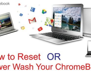 "Chromebook: How To Factory Reset Or ""Powerwash"""