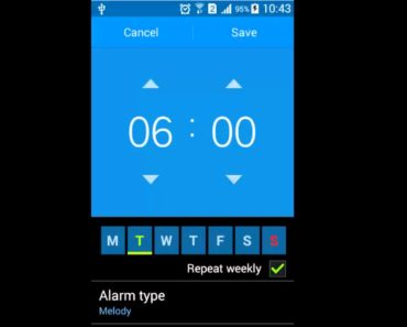 How to set an alarm on your Android phone
