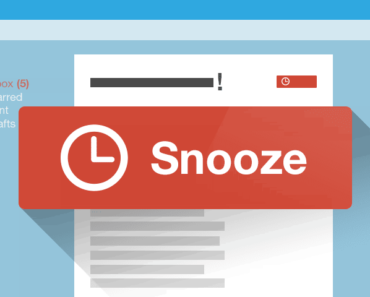 snooze email messages in gmail