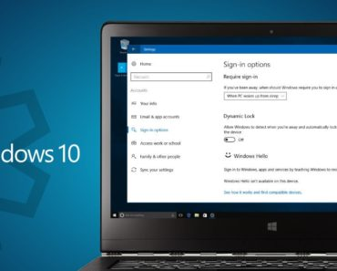 How To Turn On Dynamic Lock In Windows 10
