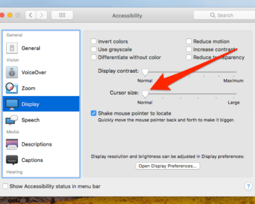 MacOS: How To Fix Missing/Invisible Mouse Cursor High Sierra