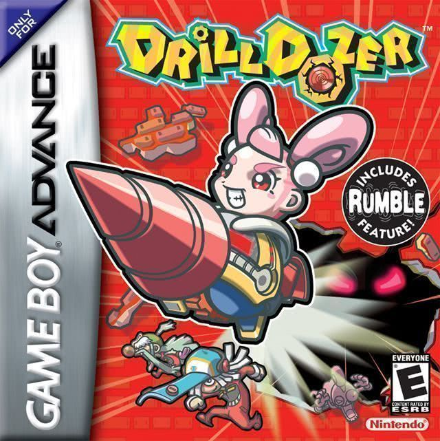 best gba games, drill dozer