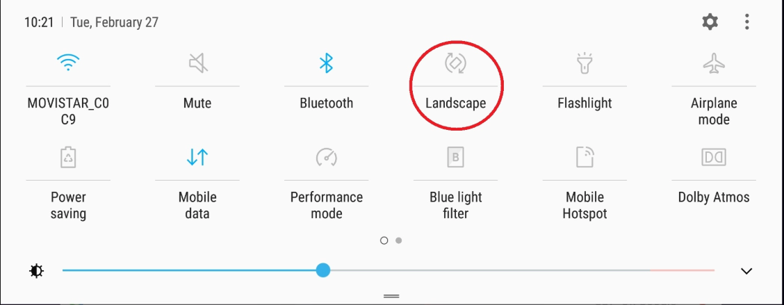 How To Adjust Screen Rotation On Samsung Galaxy S9