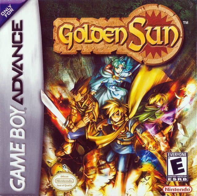 Golden Sun GBA game