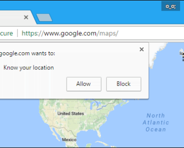 How To Disable Location Prompt In Google Chrome