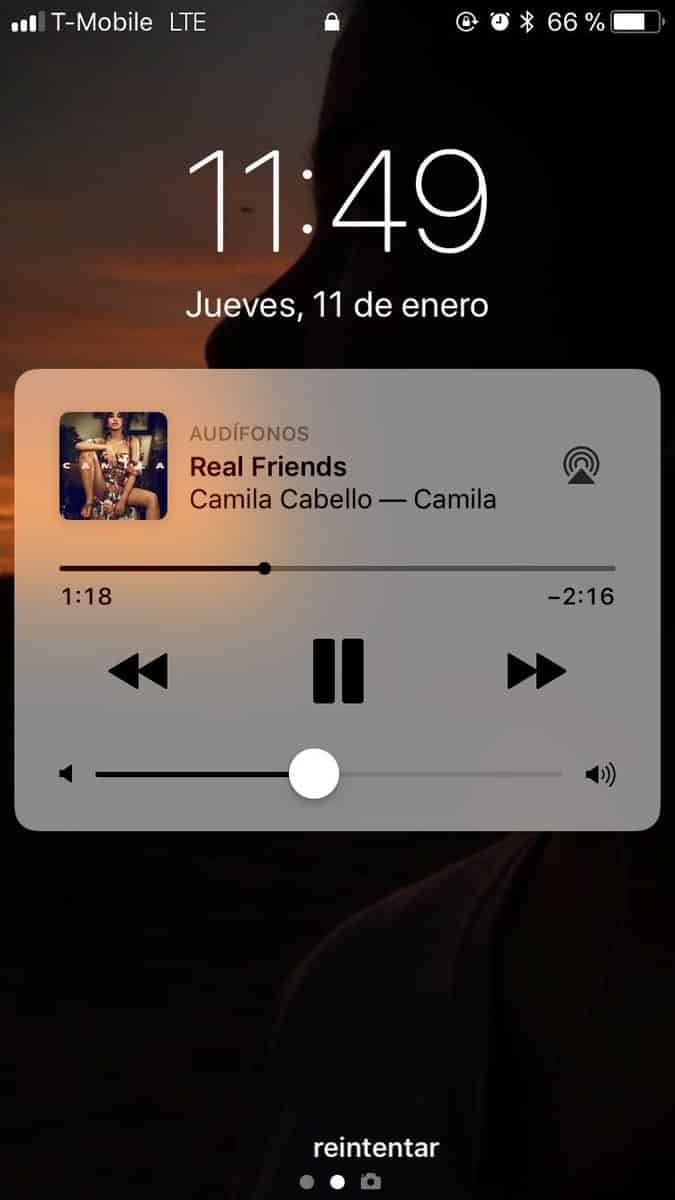 iPhone Music App Stuck On Lock Screen iOS 11