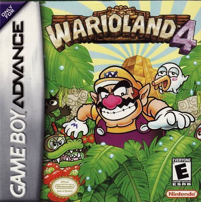 Wario Land 4 for gameboy advance