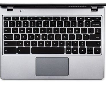 change chromebook search key to caps
