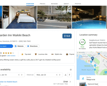 Google Hotel Search For Desktop To Get Google Material Theme