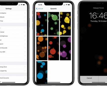 How To Set Dynamic Wallpaper On iPhone & iPad