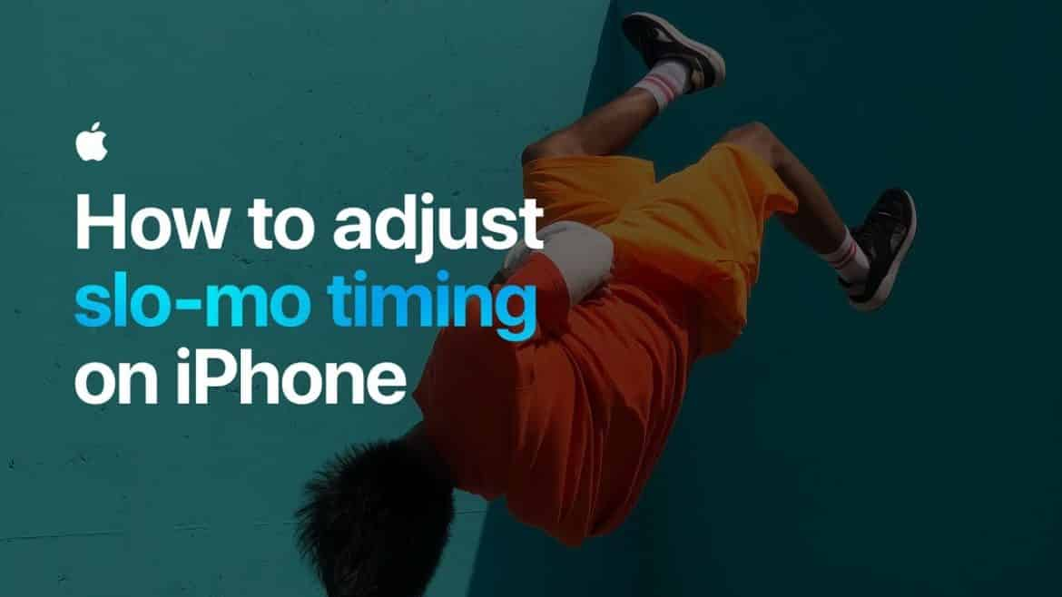 iPhone: How To Adjust Slo Mo Timing