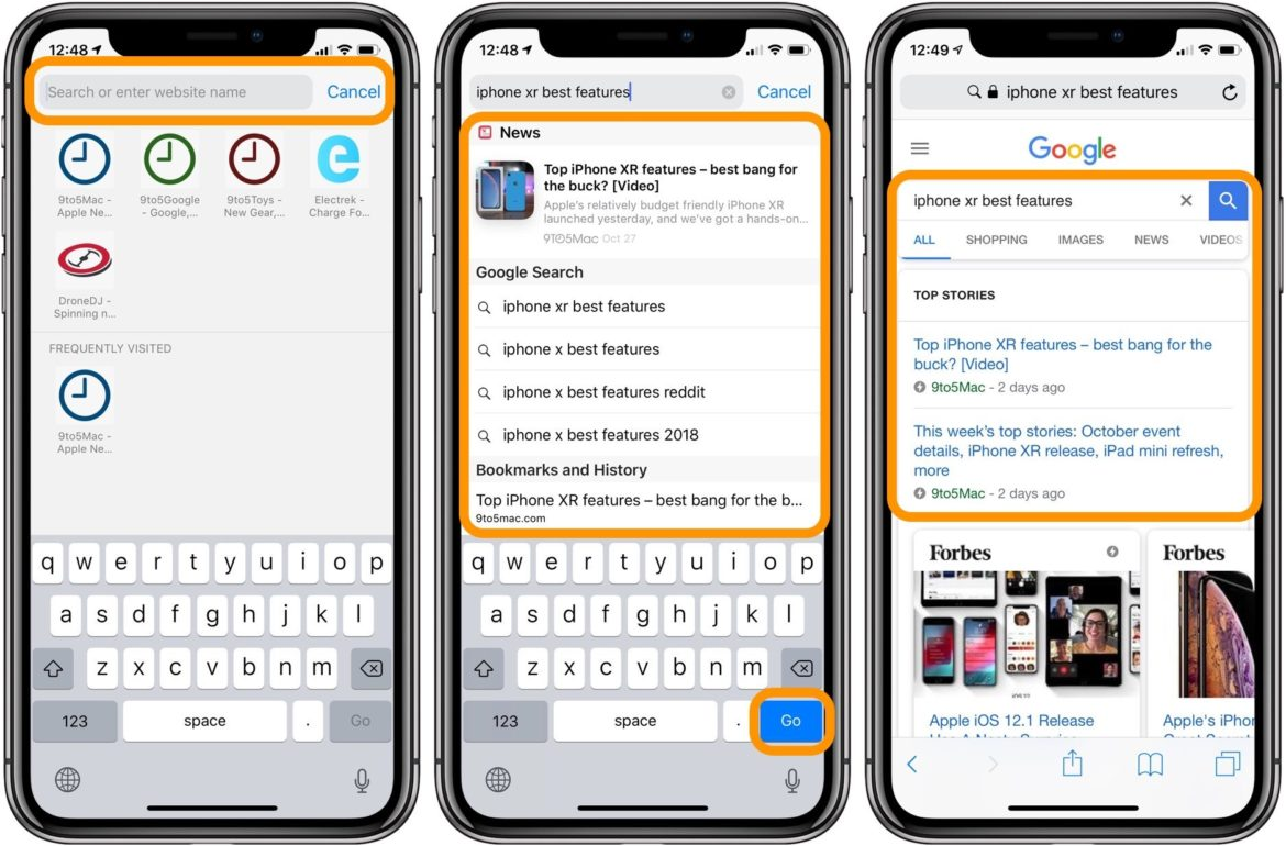iPhone: How To Search With Spotlight Search, Safari, Finder