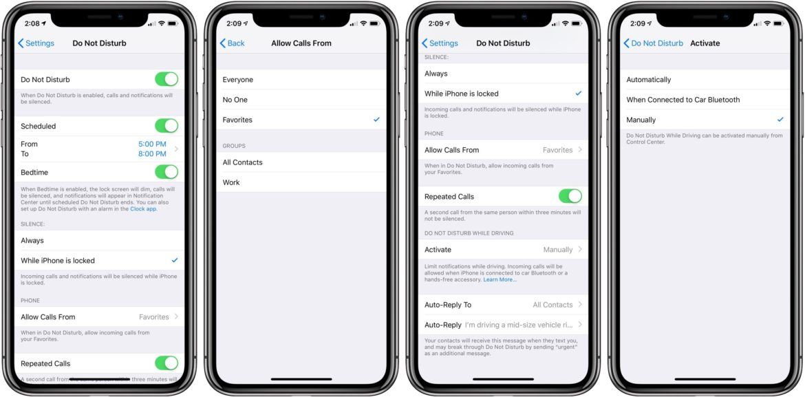 How To Use Do Not Disturb On iPhone