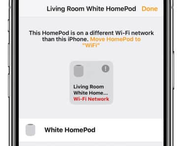 How To Change HomePod WiFi Network
