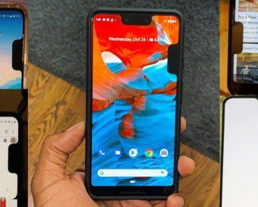 Notch Bug Creates Second Notch On Google Pixel 3 XL Screen
