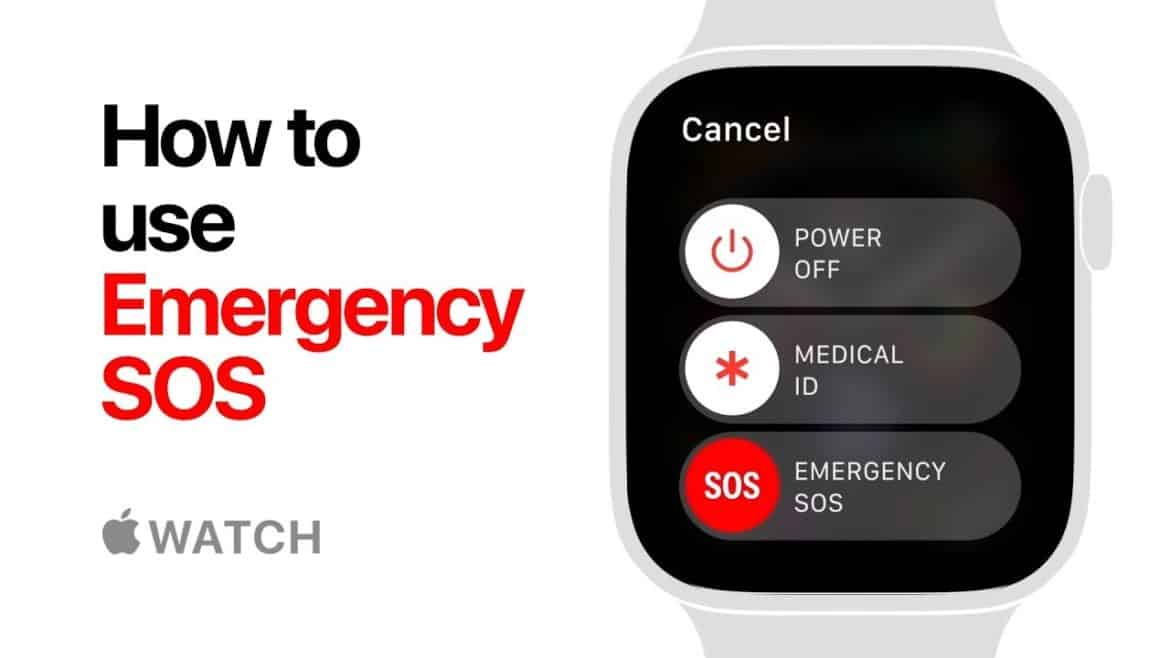 Apple Watch Series 4 - How to Use Emergency SOS W/ Video