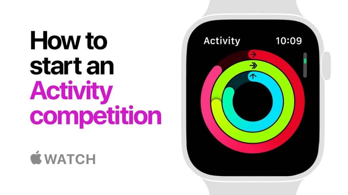 Apple Watch Series 4 - How To Start Activity Competition W/ Video