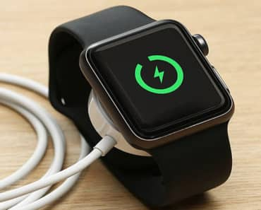 3 Easy Steps To Charge Apple Watch & Check Battery Percentage