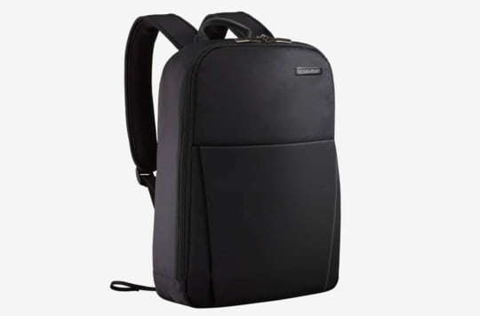 A look at the Briggs & Riley Sympatico Backpack as part of the list of laptop backpacks for college.