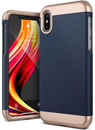 An image of an iPhone XS case by Caseology.