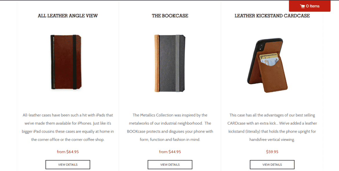 DODOcase stylish iPhone XR Cases as seen in this image.
