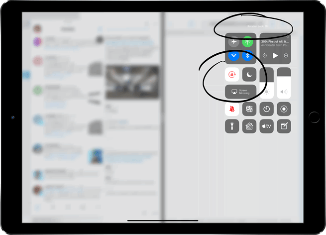 3 Easy Steps To Enable Rotation Lock On iPad (Pro, Air, Any)