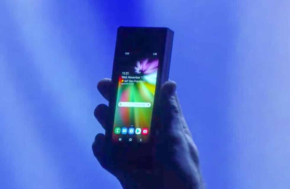 Samsung Announces Foldable Android Display Device 2