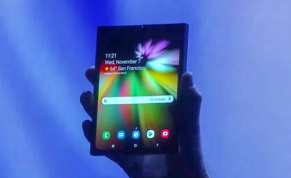 Samsung Announces Foldable Android Display Device 3